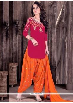 Praiseworthy Cotton Designer Patiala Suit