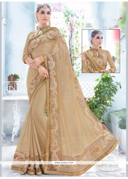 Gleaming Fancy Fabric Classic Designer Saree