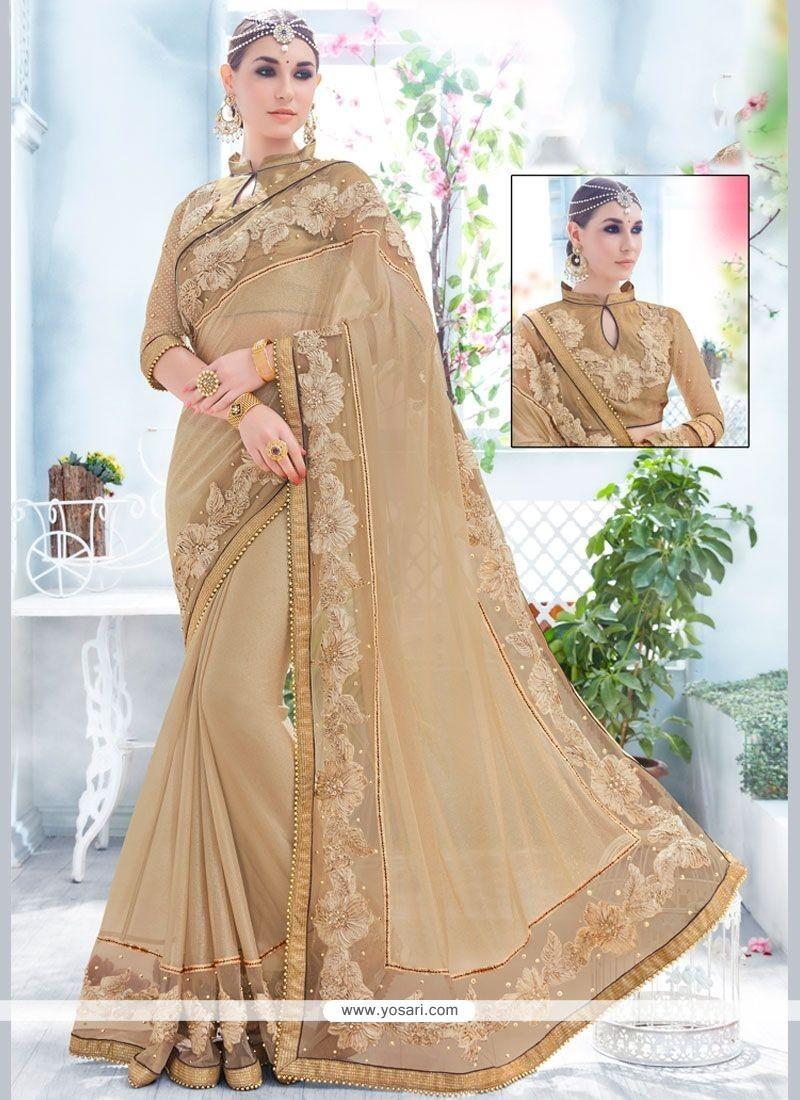 Gleaming Fancy Fabric Classic Designer Saree