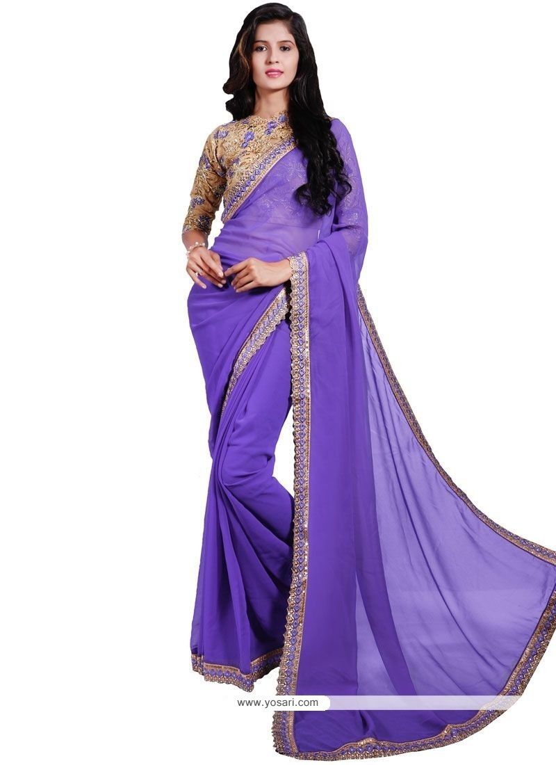 Exceeding Faux Georgette Classic Saree