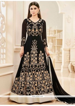 Mouni Roy Embroidered Work Floor Length Anarkali Salwar Suit