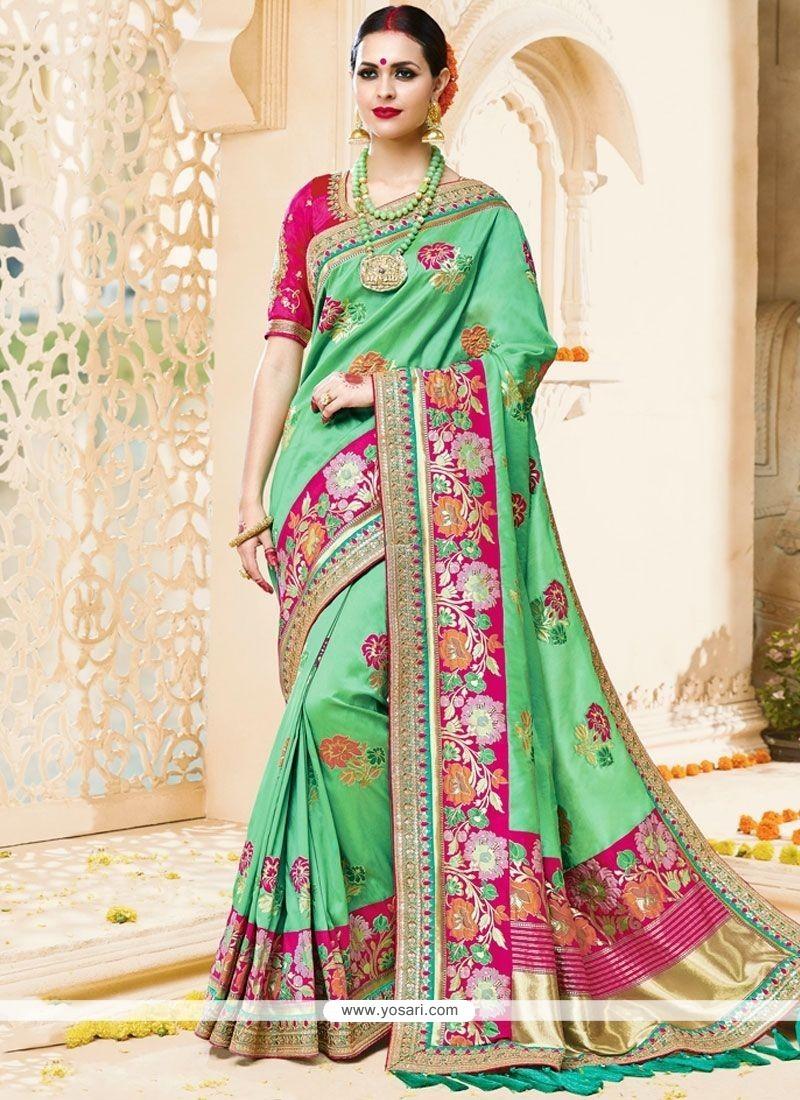 Subtle Art Silk Designer Traditional Saree
