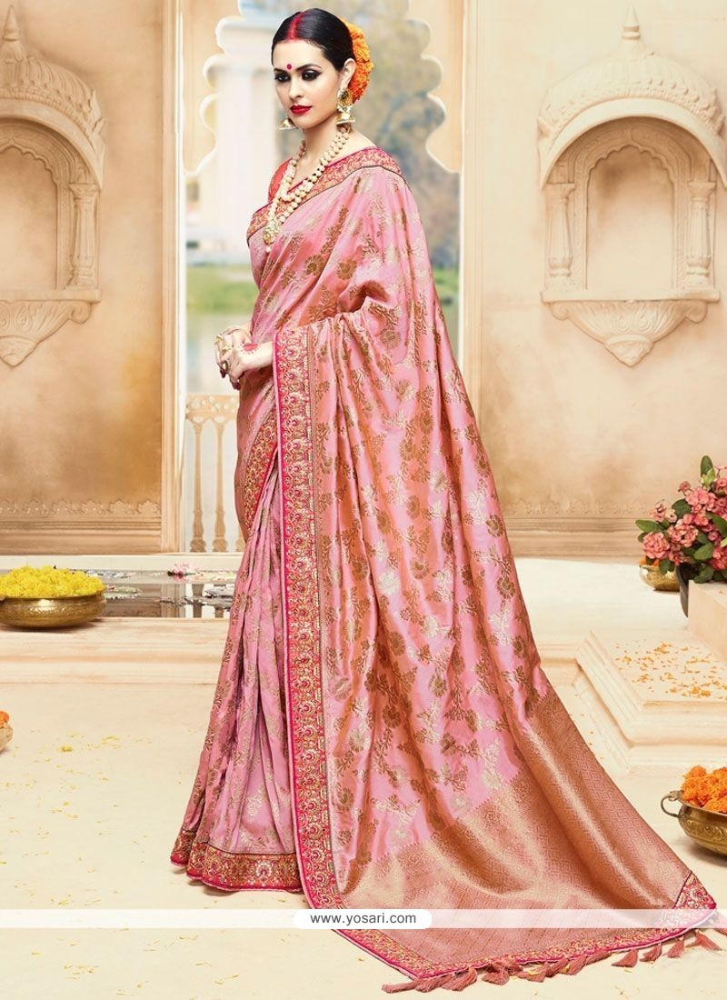 Sonorous Art Silk Embroidered Work Designer Traditional Saree