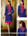 Ideal Embroidered Work Party Wear Kurti