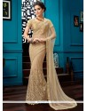 Distinctively Lace Work Designer Saree