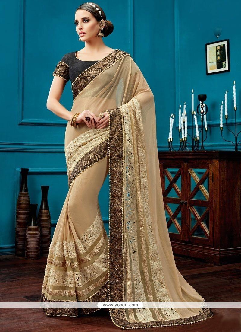 Refreshing Designer Saree For Bridal