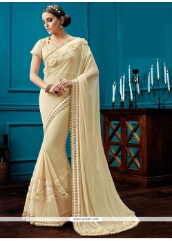 Incredible Net Resham Work Classic Saree