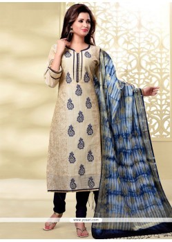 Exceeding Chanderi Churidar Designer Suit