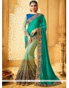 Striking Designer Half N Half Saree For Bridal
