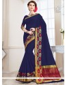 Praiseworthy Woven Work Traditional Saree