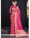 Gripping Weaving Work Designer Traditional Saree
