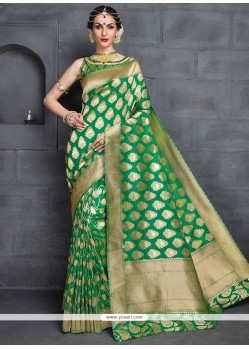 Fashionable Banarasi Silk Designer Traditional Saree