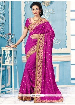 Catchy Crepe Silk Saree