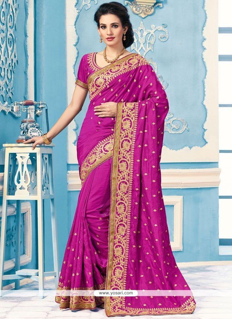 Catchy Crepe Silk Saree