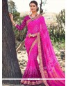 Beautiful Faux Georgette Shaded Saree