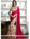 Gratifying Print Work Multi Colour Fancy Fabric Printed Saree