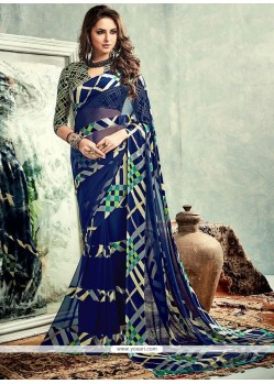 Marvelous Weight Less Printed Saree