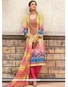 Mod Cotton Designer Palazzo Suit