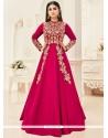 Mouni Roy Resham Work Floor Length Anarkali Suit