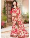Resplendent Multi Colour Printed Saree