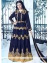 Ayesha Takia Navy Blue Floor Length Anarkali Suit