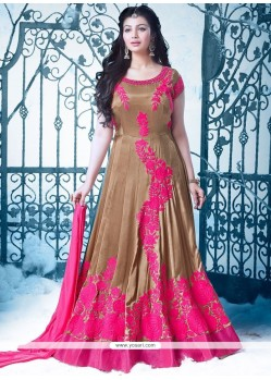 Ayesha Takia Resham Work Floor Length Anarkali Suit