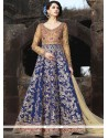 Gripping Art Silk Floor Length Anarkali Suit