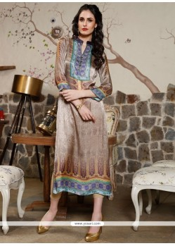 Beckoning Multi Colour Party Wear Kurti