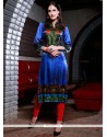 Urbane Digital Print Work Party Wear Kurti
