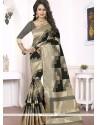 Refreshing Woven Work Banarasi Silk Traditional Designer Saree