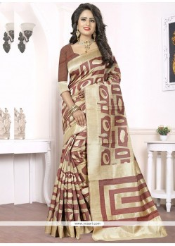 Fine Woven Work Banarasi Silk Traditional Saree