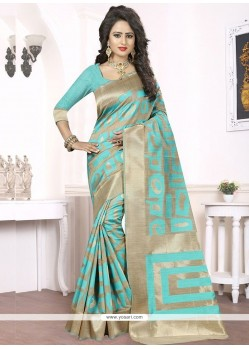 Festal Woven Work Designer Traditional Saree