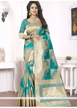 Voluptuous Woven Work Banarasi Silk Traditional Saree
