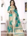 Voluptuous Woven Work Banarasi Silk Traditional Saree