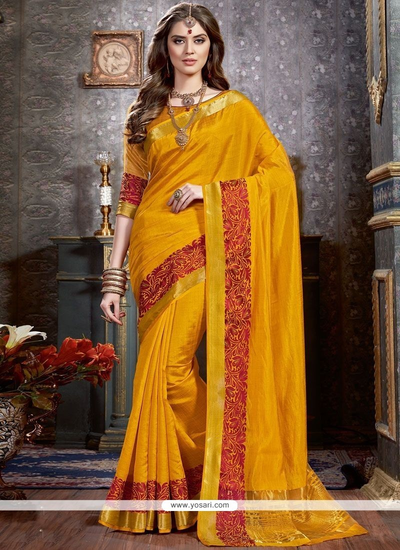 Celestial Tussar Silk Woven Work Traditional Designer Saree