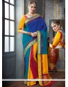 Magnetic Woven Work Tussar Silk Designer Traditional Saree