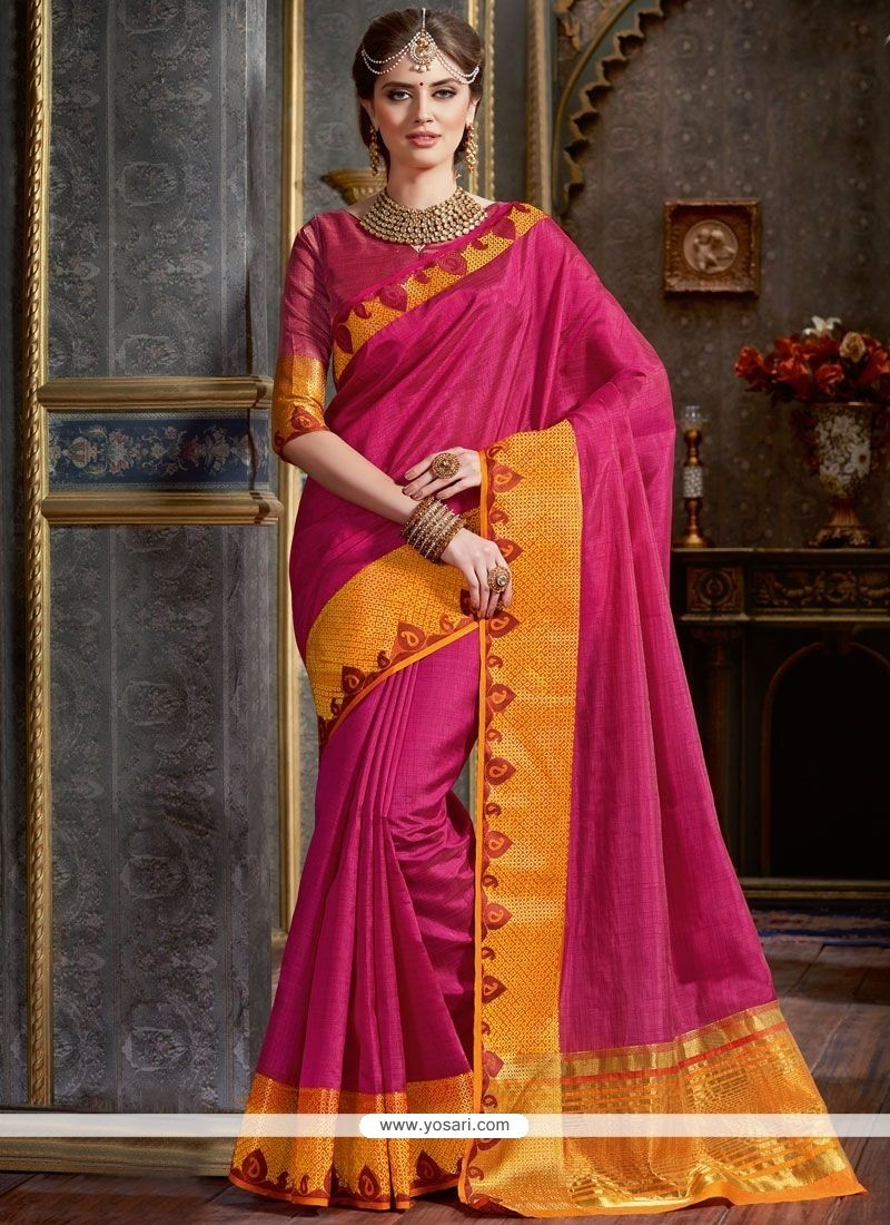 Awesome Woven Work Tussar Silk Traditional Saree