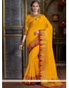Classy Tussar Silk Designer Traditional Saree