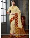 Stupendous Woven Work Traditional Designer Saree