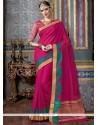 Integral Magenta Traditional Designer Saree