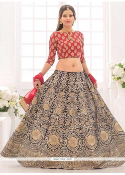 Extraordinary Floral Patterns Work Lehenga Choli