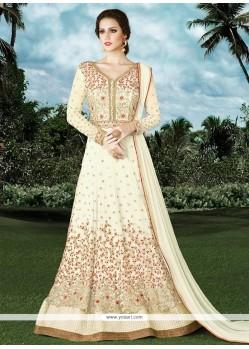 Best Net Floor Length Anarkali Suit