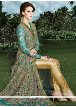Intrinsic Resham Work Art Silk Designer Suit