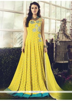 Piquant Cotton Readymade Anarkali Salwar Suit