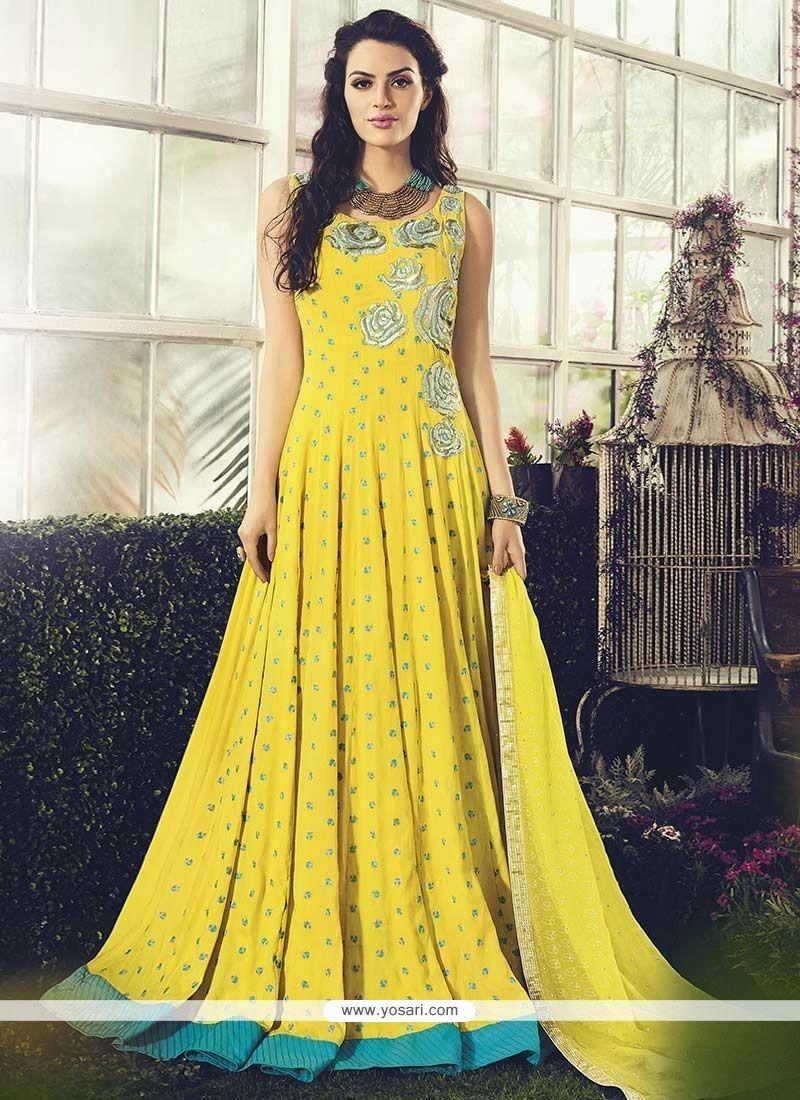 Piquant Cotton Readymade Anarkali Salwar Suit
