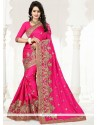 Girlish Art Silk Embroidered Work Designer Traditional Saree