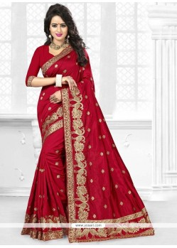 Extraordinary Art Silk Zari Work Designer Traditional Saree