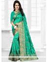 Perfect Zari Work Designer Traditional Saree