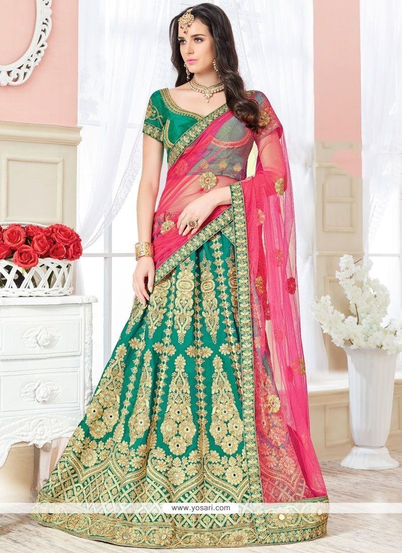 Majestic Art Silk Lehenga Choli