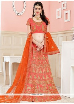 Elite Resham Work Lehenga Choli